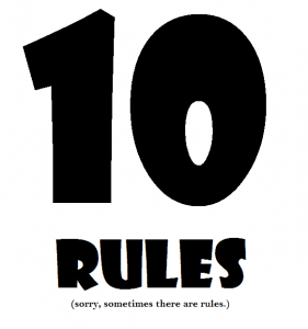 personal finance rules 10