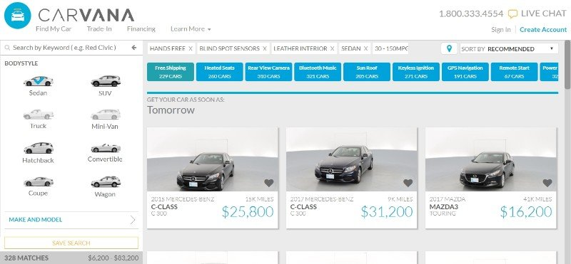 2019 Carvana Reviews: Sell Your Car & Get Financing