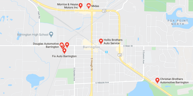 auto body shop Barrington