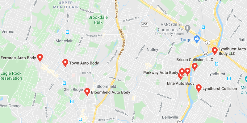 auto body shop Brookdale