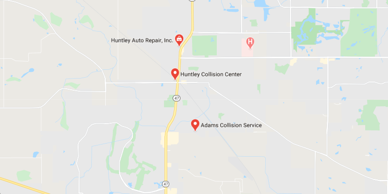 auto body shop Huntley