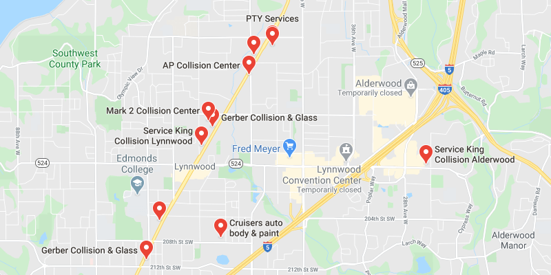 auto body shop North Lynnwood