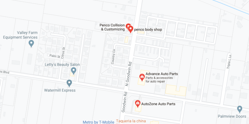 auto body shop Palmview