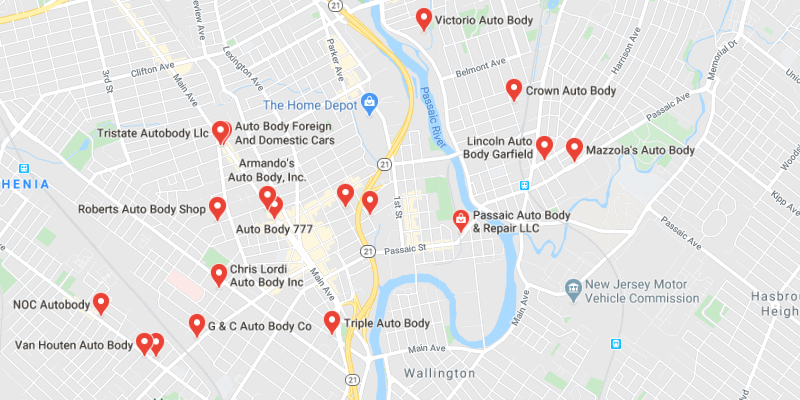 auto body shop Passaic