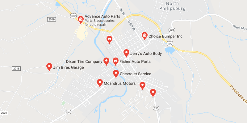 auto body shop Philipsburg
