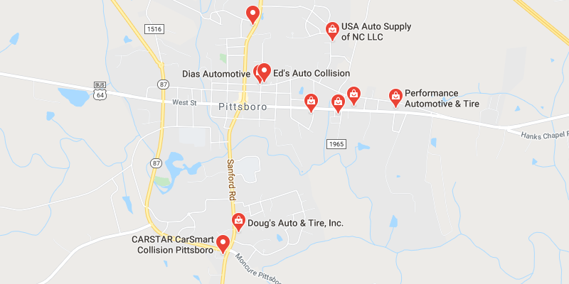 auto body shop Pittsboro
