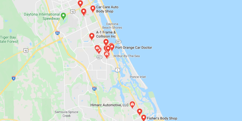 auto body shop Port Orange