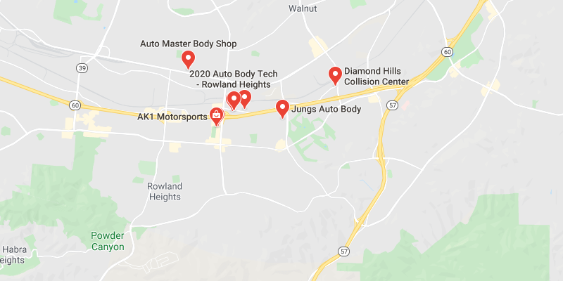 auto body shop Rowland Heights