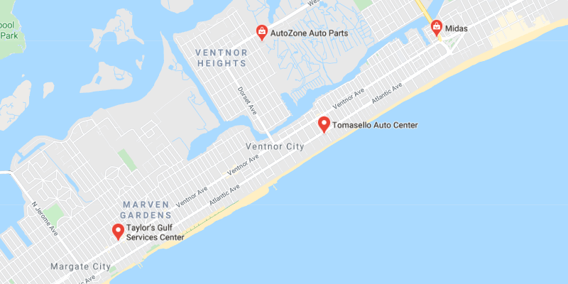 auto body shop Ventnor City