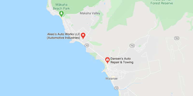 auto body shop Waianae
