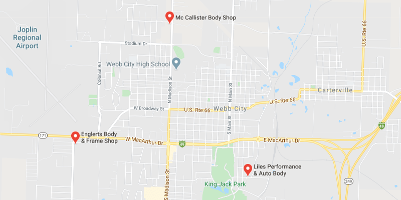 auto body shop Webb City
