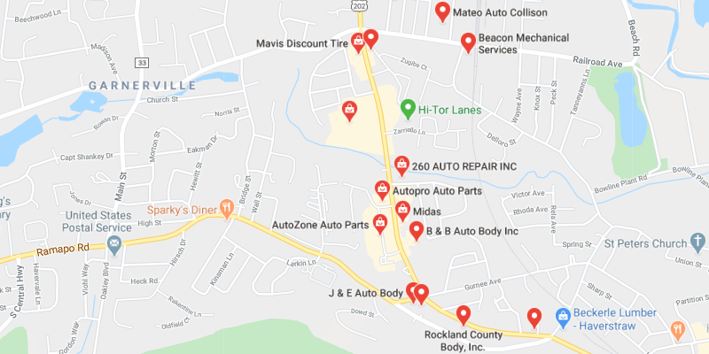 auto body shop West Haverstraw