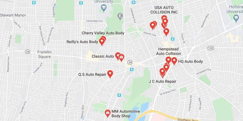 auto body shop West Hempstead