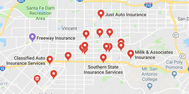 Cheap Car Insurance Covina California Best Rate Quotes