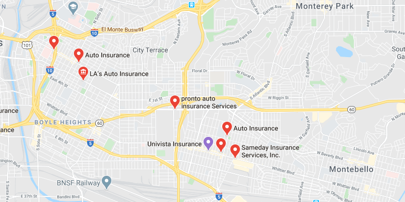 cheap car insurance East Los Angeles