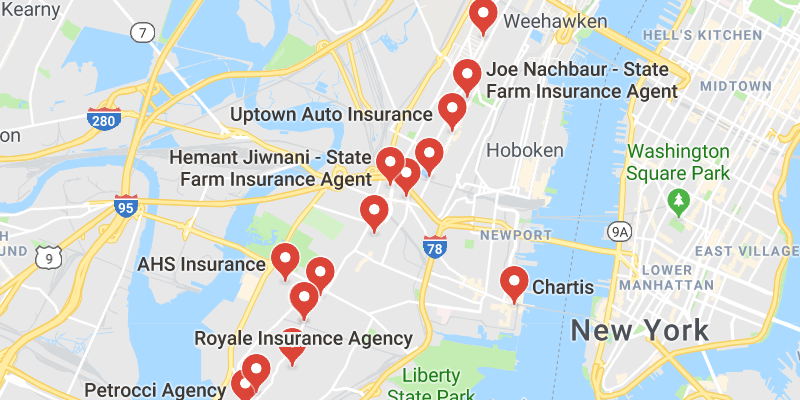 cheap car insurance Jersey City