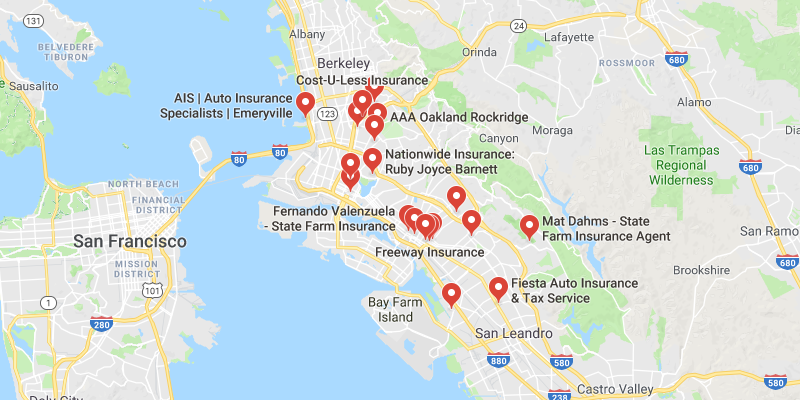 cheap car insurance Oakland
