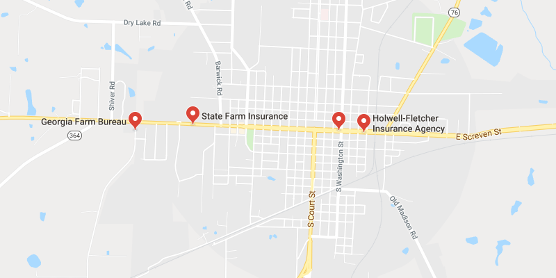Map Of Quitman Ga.Cheap Car Insurance Quitman Georgia Best Rate Quotes