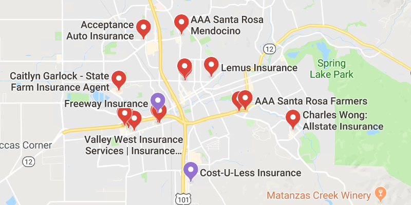 cheap car insurance Santa Rosa