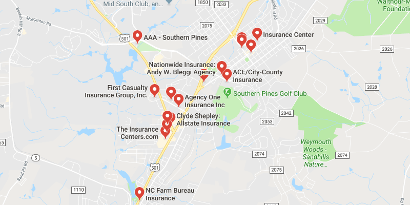 cheap car insurance Southern Pines