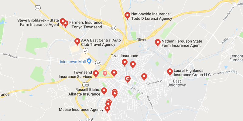cheap car insurance Uniontown