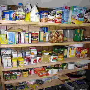 Not our pantry. I wish ours was this organized!