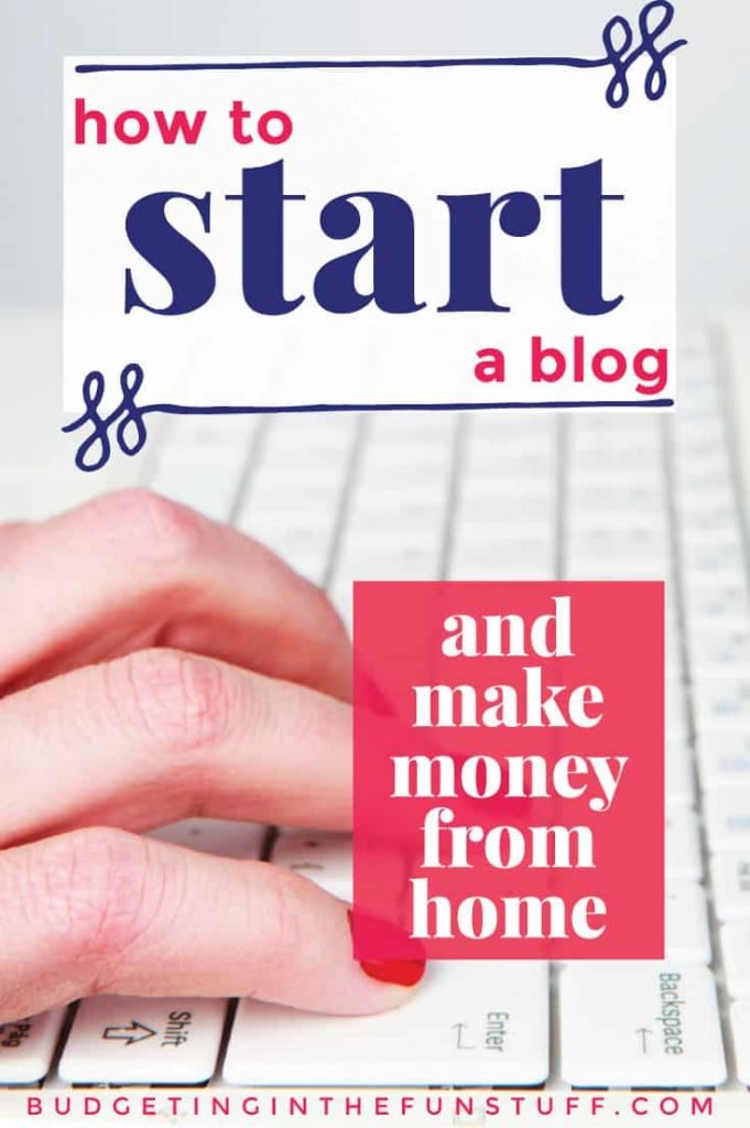If you've ever wondered how to start a blog so that you can make money from home, this is how! I've been self employed thanks to blogging since 2011 and LOVE it. This is how I do it.