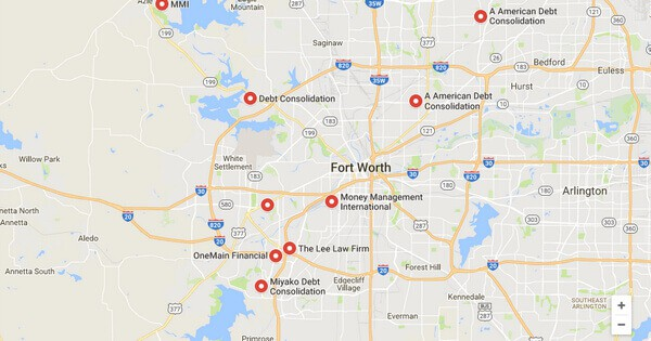 Debt Consolidation Loans in Fort Worth, TX