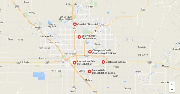 Debt Consolidation Loans in Fresno, CA
