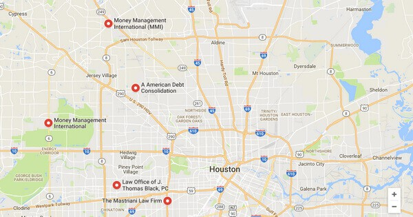 Debt Consolidation Loans in Houston, TX