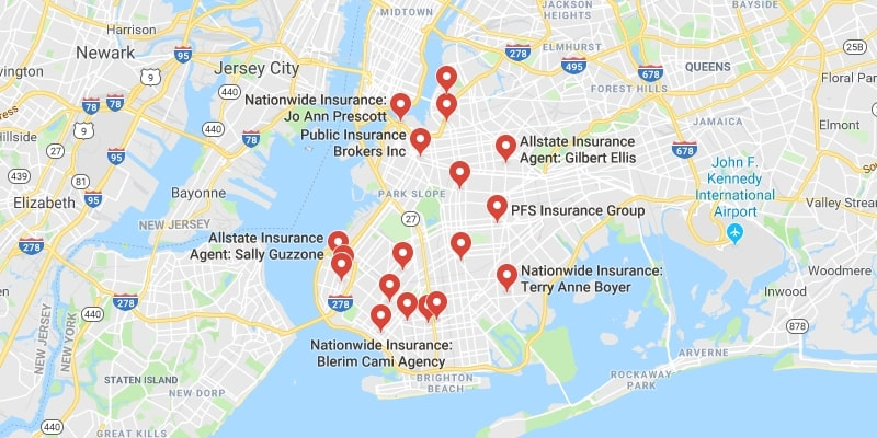 Cheapest Auto Insurance in Brooklyn,New York
