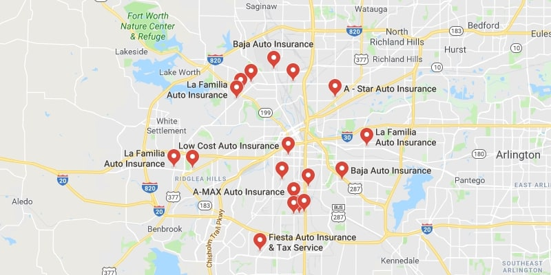 cheap car insurance fort worth best rate quotes