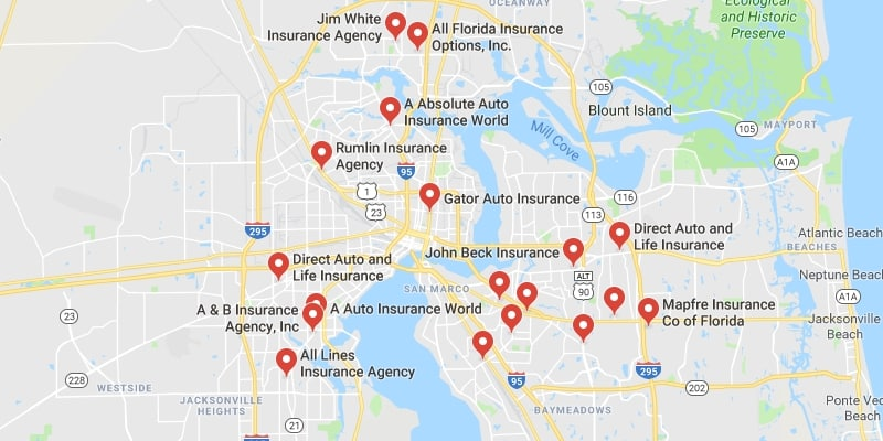 cheap car insurance jacksonville florida best rate quotes