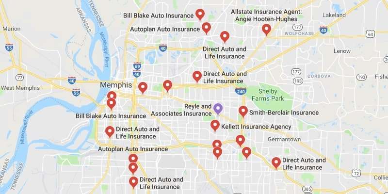 Cheapest Auto Insurance in Memphis,Tennessee