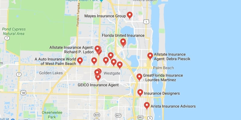 Cheapest Auto Insurance in West Palm Beach,Florida