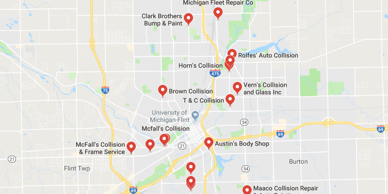 Auto Body Shops in Flint,Michigan